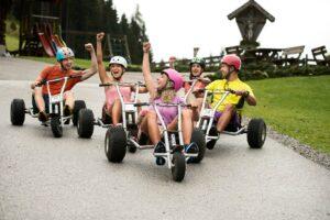 Mountaincart in Flachau