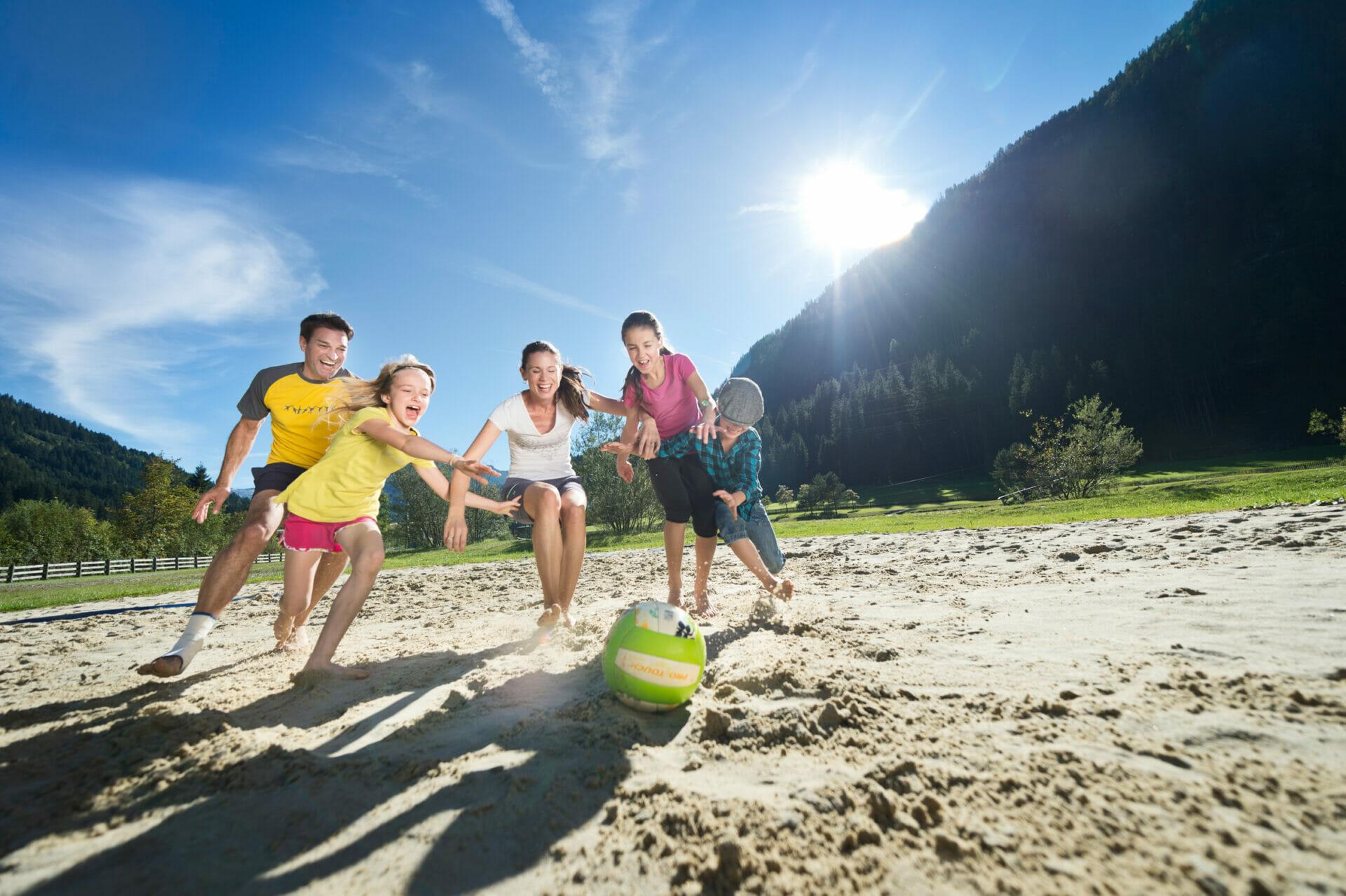 Ballspass im Familien-Urlaub in Flachau