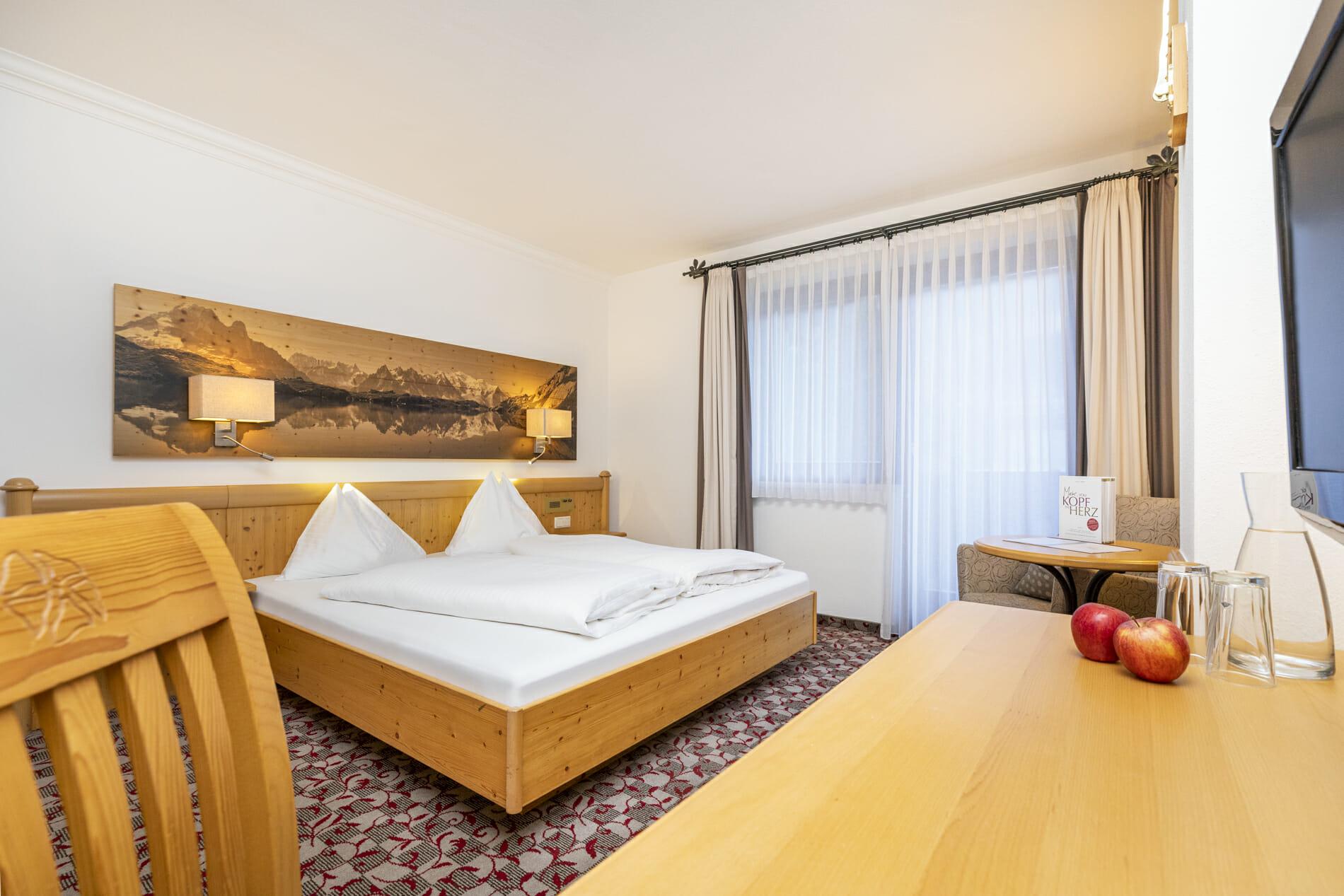 Doppelzimmer Lackenkogel im Hotel Pongauerhof