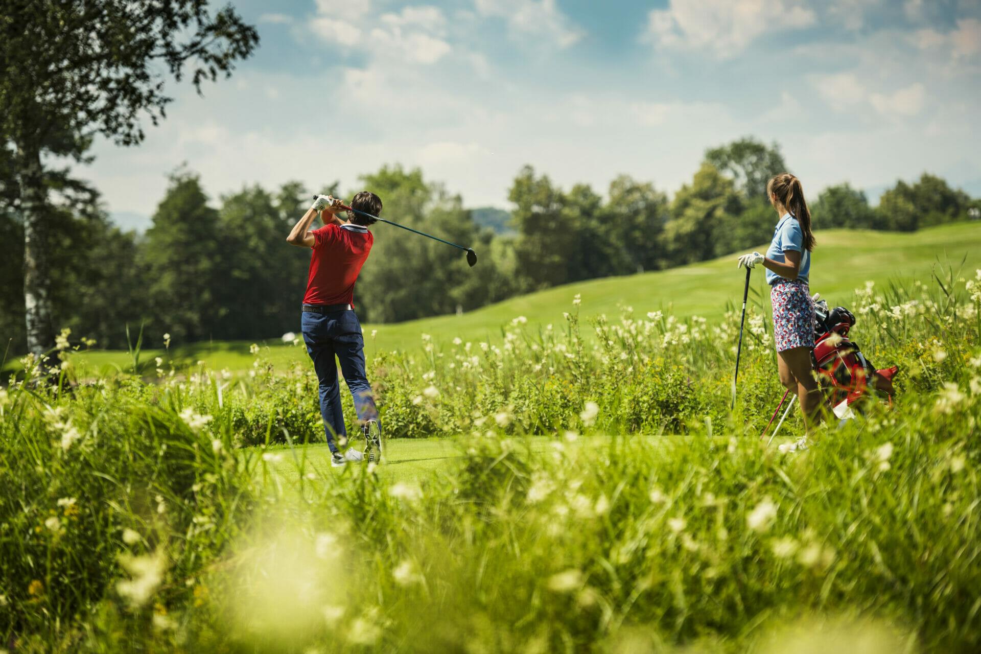 Golfen im Urlaub in Flachau