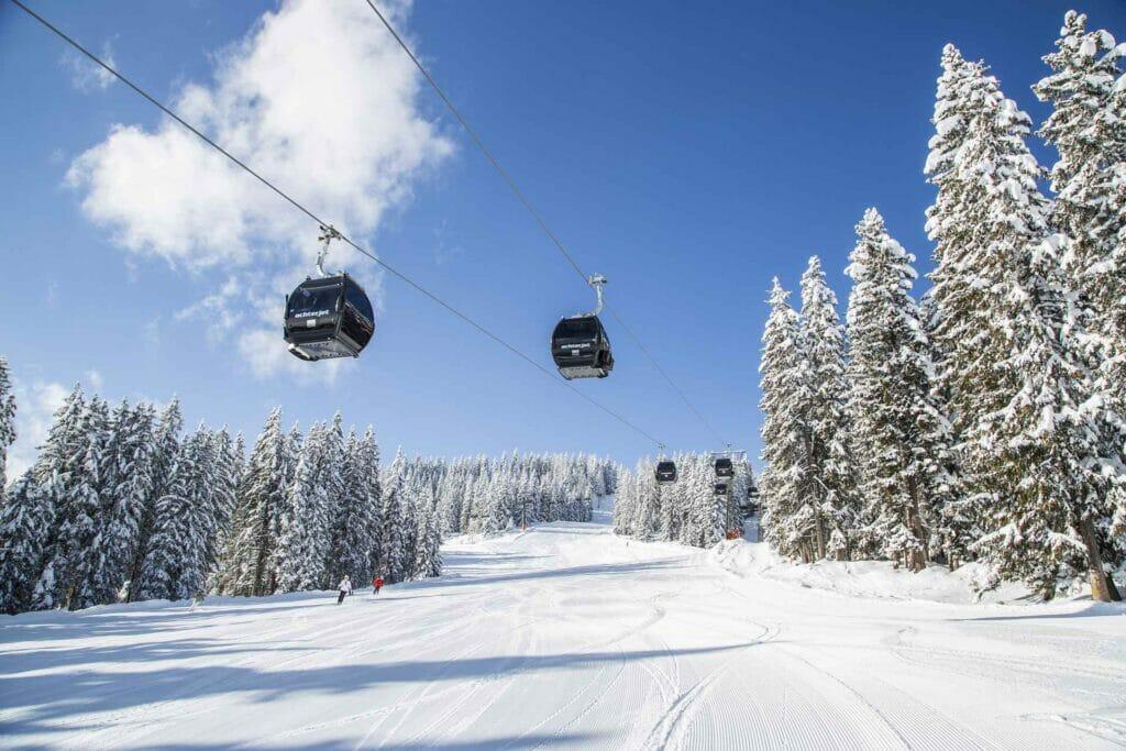 Skigebiet in Flachau