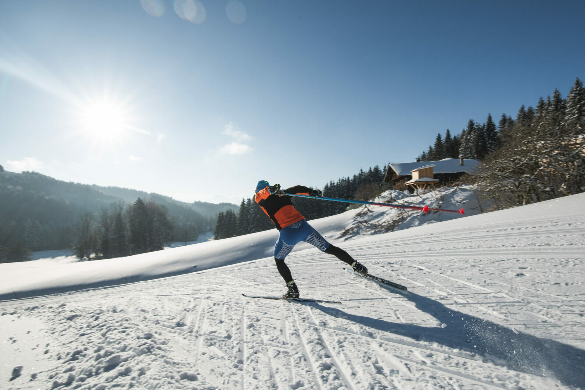 Langlaufen im Winterurlaub in Flachau