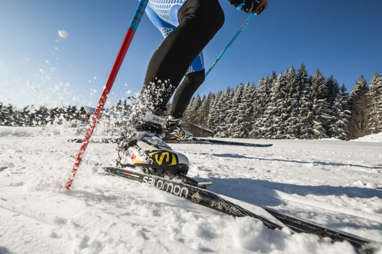 Cross country skiing on vacation in Salzburger Land