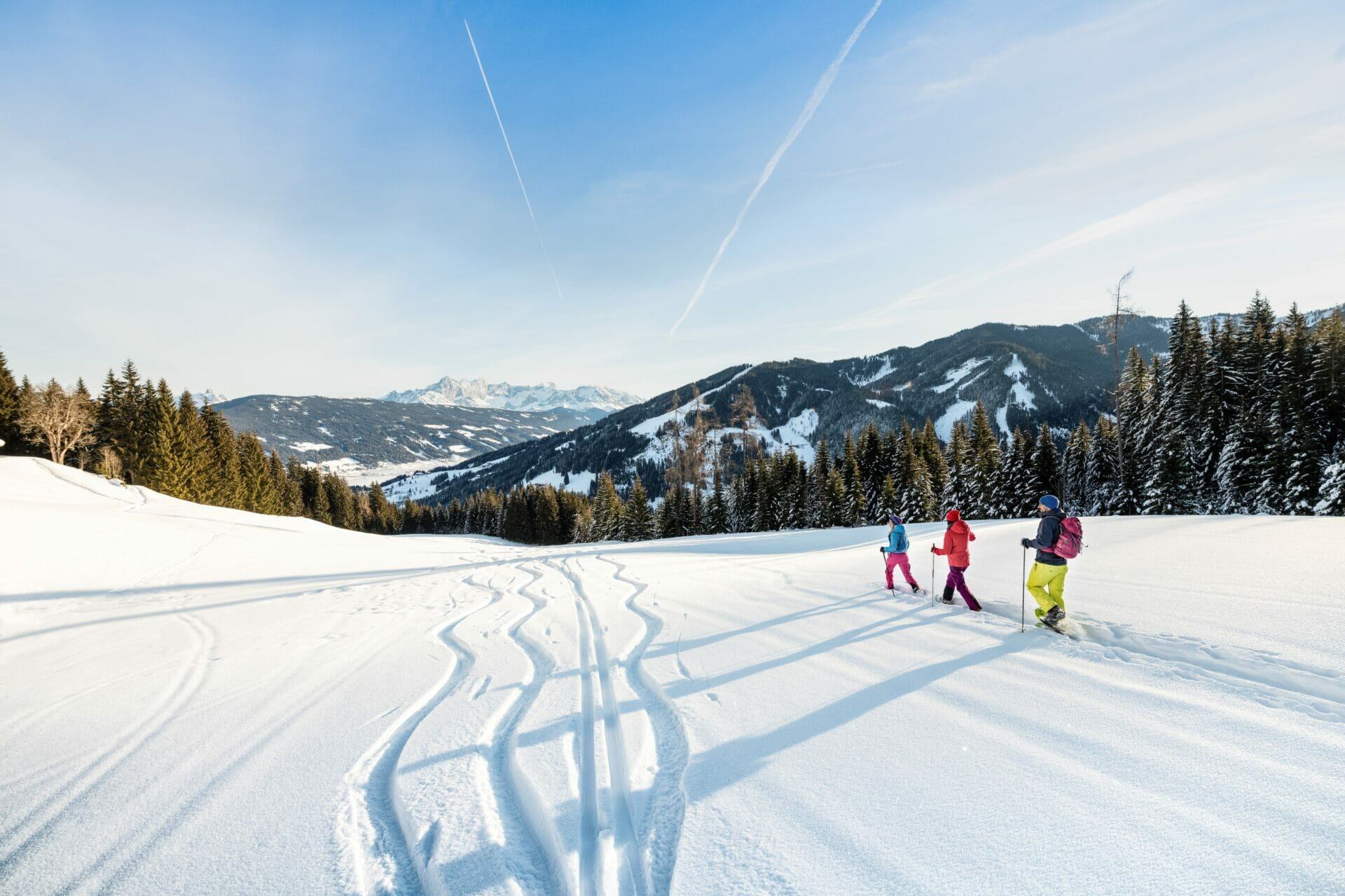 Schneeschuh-Wandern im Salzburger Land