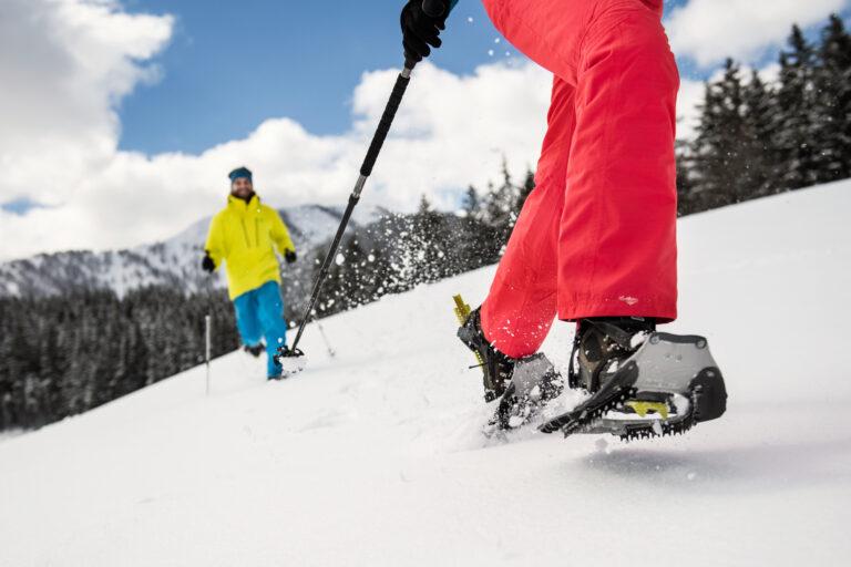 Snowshoe Hiking in Flachau