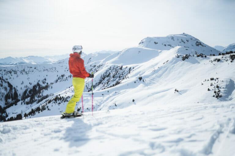 Skifahren in den Salzburger Alpen