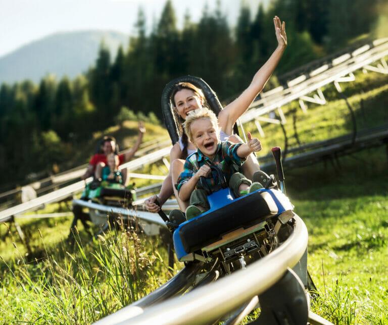 Sommerrodeln in Flachau